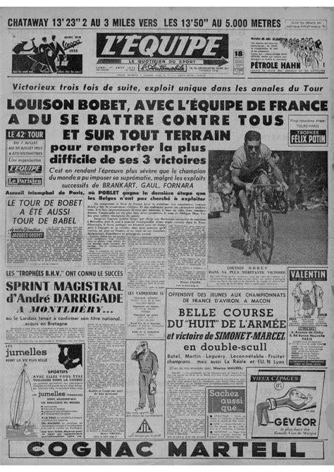 """Tour de France 1955 : """"Louison Bobet [...] a du se battre"""