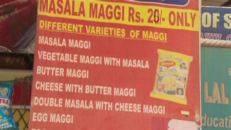 Ban On Maggi Essay by Nestl Takes Instant Hit From Indias Maggi Noodle Ban