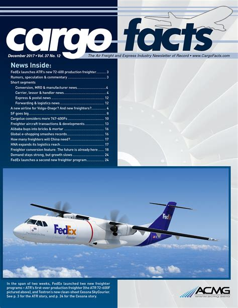 cargo facts the air freight express industry source of record