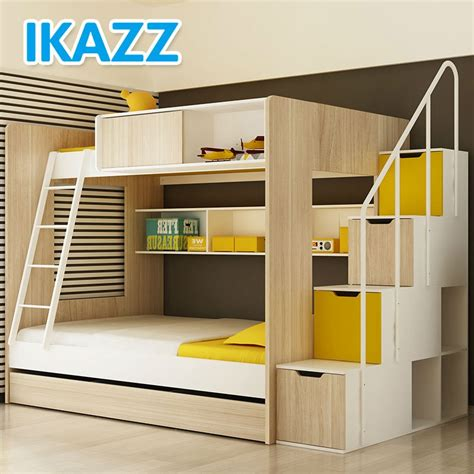 bunk bed with stairs and slide bunk beds with stairs and