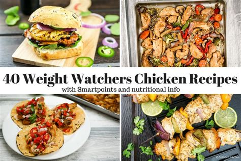 weight watchers recipes for chicken forty weight watchers chicken recipes slender kitchen