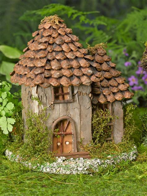 fairy homes fairy house fairy garden gardens pinterest