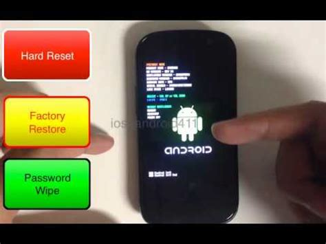 reset samsung battery how to hard reset factory restore password wipe the