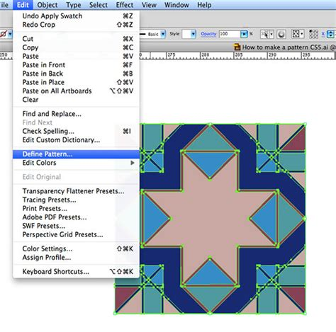 edit pattern swatches in illustrator cs5 illustrator how to make a pattern that seamlessly repeats