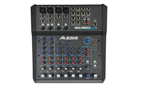 Mixer Fx Usb alesis multimix 8 usb fx for all your podcast needs