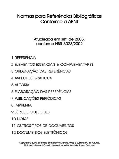Normas Para Referências Bibliográficas - ABNT(2) | Disco