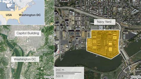 washington dc map navy yard washington navy yard shooting as it happened news