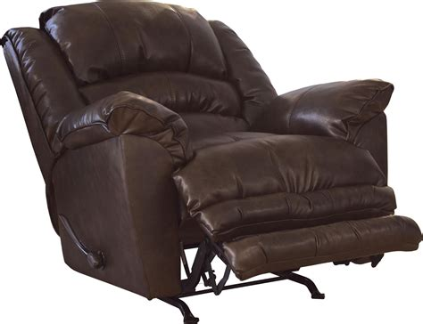 X Rocker Recliner Catnapper Filmore Chaise Rocker Recliner Oversized X Tra Comfort Footrest Timber Cn 4745 2