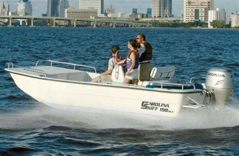 carolina skiff guide boat carolina skiff 1980 dlx boats for sale
