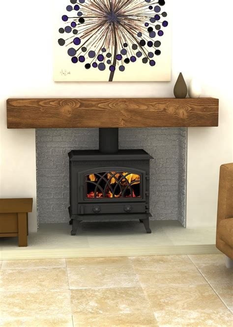 Wood Burning Stove In Fireplace by 25 Best Ideas About Wood Stove Hearth On Wood