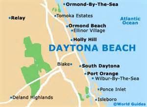 daytona maps and orientation daytona florida
