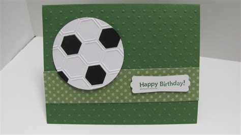 Soccer Birthday Card Personally Yours Soccer Birthday Gift Card