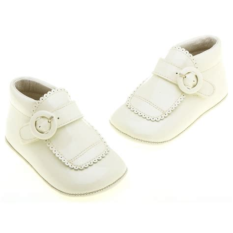 christening shoes for baby pretty originals baby boys ivory christening shoes