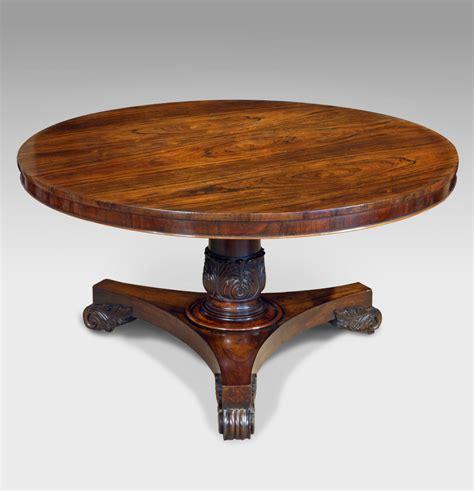 Antique Rosewood Dining Table Antique Rosewood Centre Table Antique Breakfast Table Antique Table Circular Rosewood