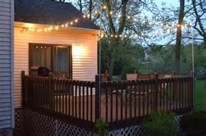 deck string lights string lights for deck images