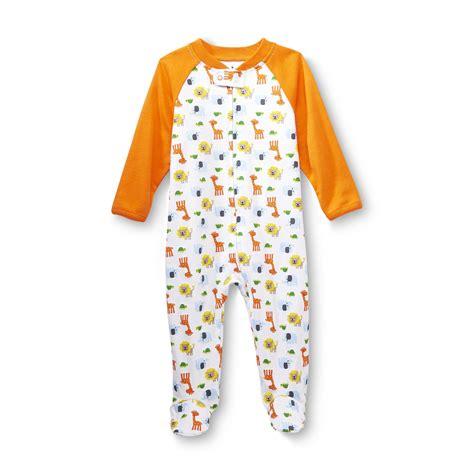 small wonders newborn boy s sleeper pajamas baseball
