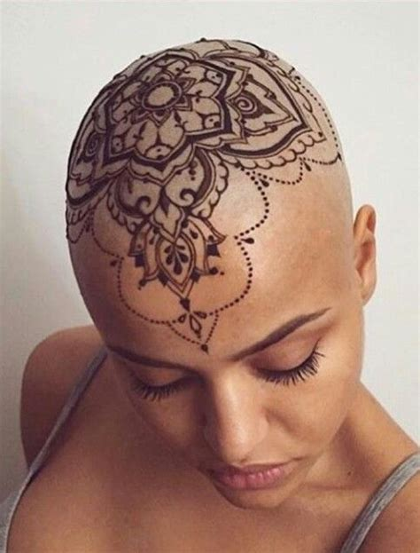 henna head tattoo best 25 scalp ideas on tattoos