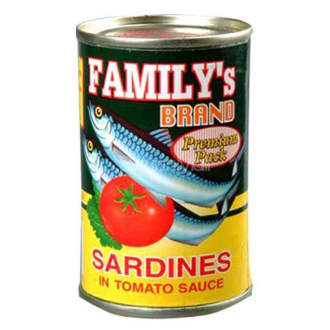 Pronas Sardines Tomato Sauce 155g familys brand sardines tomato sauce 155g