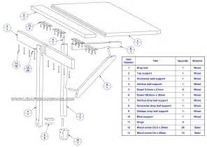 wall blueprints blueprints folding wall table plans