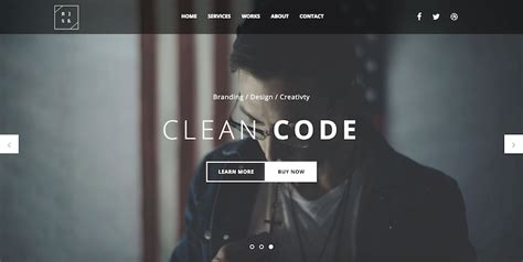 bootstrap templates for photographers 10 free responsive bootstrap templates for 2016 adminlte io