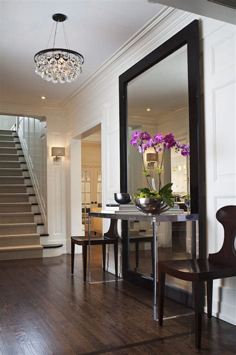 foyer designs 18 entryways with captivating mirrors