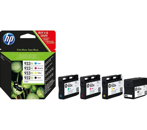 Hp 933 Tinta Printer Magenta hp hp932xl hp 933xl cyan magenta yellow black ink