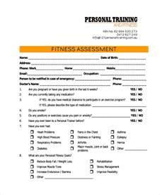 47 assessment form exles free premium templates