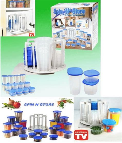Smart Spin And Store Wadah Penyimpanan 49in1 Unik N Rak Murah smart spin and store wadah penyimpanan 49 in 1 223