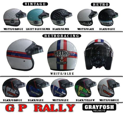 Helm Grayfosh helm grayfosh gp rally pabrikhelm jual helm murah