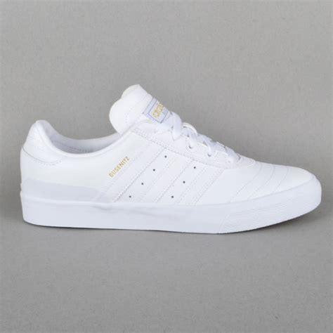 adidas skateboarding busenitz vulc skate shoes ftw white