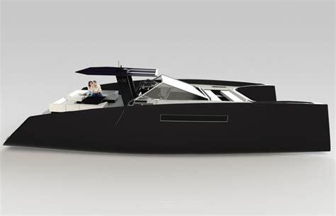 Modern House Plans Designs A50 Open Catamaran By Janne Leppanen Tuvie