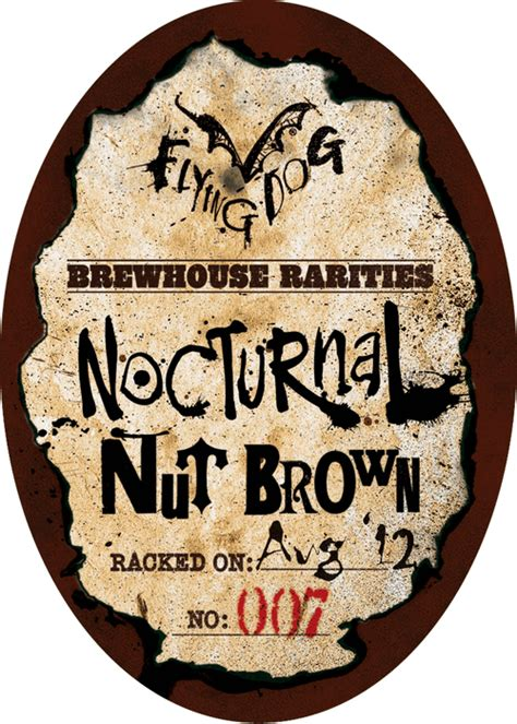 are dogs nocturnal flying nocturnal nut brown ale beerpulse