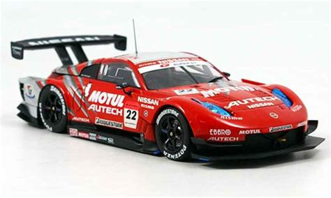 Ebbro 1 43 Nissan Z Motul Autech Test Car 2006 nissan 350z jgtc motul autech z supergt no 22 2007 ebbro diecast model car 1 43 buy sell