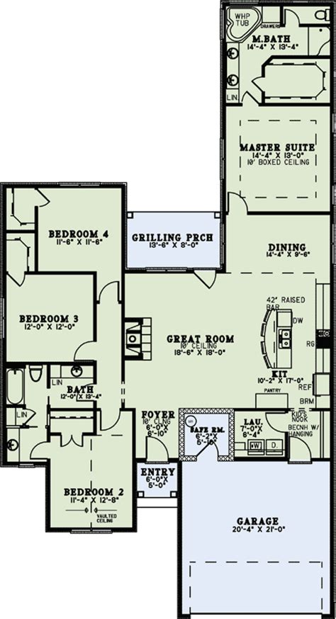 european house plan with safe room 60649nd 1st floor