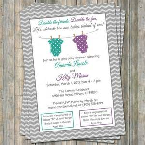 joint baby shower invitations theruntime
