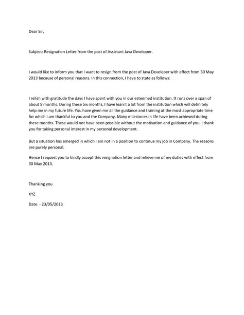Resignation Letter Sle Angry resignation acknowledgement letter template 28 images