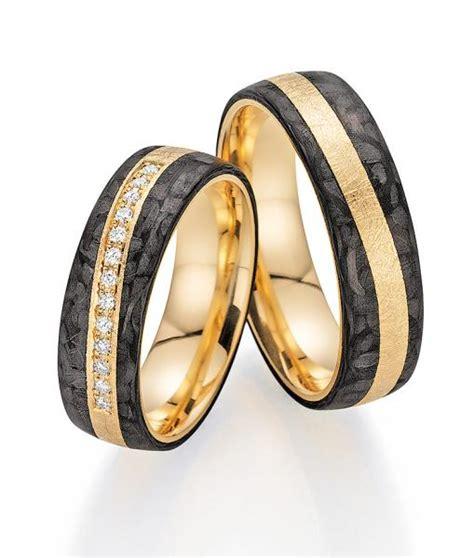 Trauringe Carbon Gold by Trauringe Carbon G 252 Nstig Kaufen