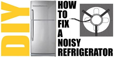 loud fans to drown out noise how to fix a noisy refrigerator fan motor