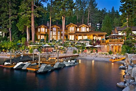 larry ellison tahoe house oracle billionaire s beautiful