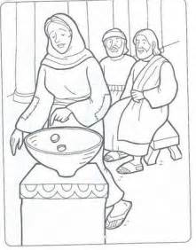 the widow s offering coloring pages