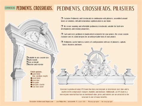 Architectural Pediment Design Windows And Doors Headers Gable Roof Design Pediment Cornices Royalfoam