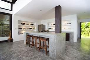 concrete kitchen design concrete kitchen island countertops interior design ideas