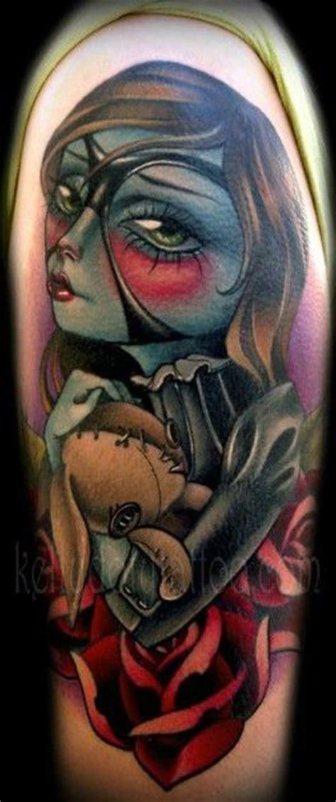 tattoo zombie new school new school zombie girl tattoo t a t t o o pinterest