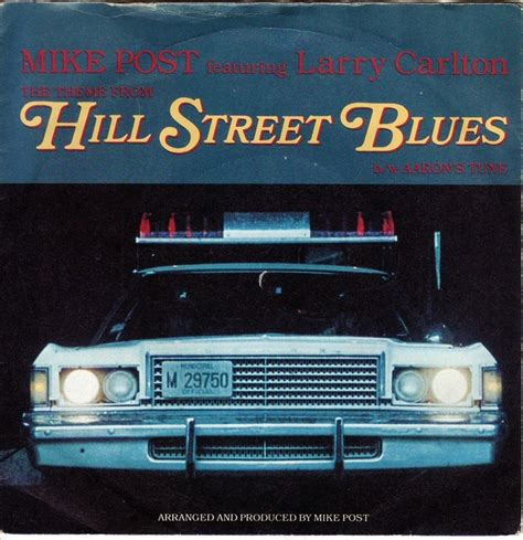 theme song hill street blues the theme from hill street mike post get back jo