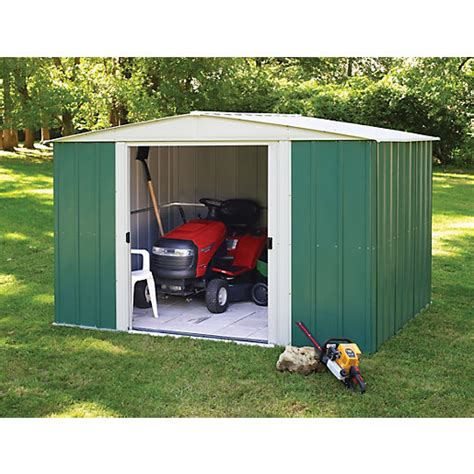 8 X 10 Aluminum Shed by Rowlinson Metal Apex Shed Without Floor 10x8 Wickes Co Uk