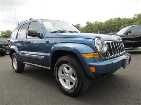 2006 Jeep Liberty Specs 2006 Jeep Liberty Crd Limited 4x4 Data Info And Specs