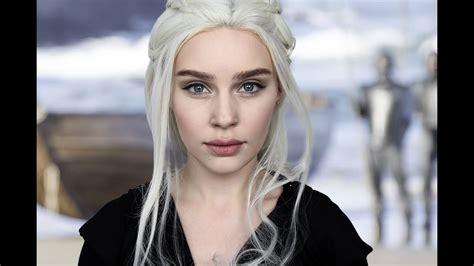 daenerys targaryen actress without makeup game of thrones daenerys targaryen emilia clarke makeup