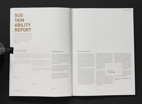report layout design exles annual report craft victoria on behance