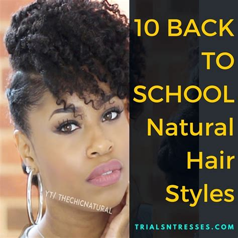 Hairstyles For Hair Black Back To School by Hairstyles For Black Hair School Hairstyles