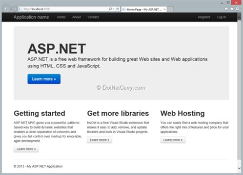 bootstrap template for asp net webforms visual studio 2013 preview what s new for web